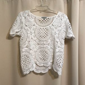 Doily Lace Top
